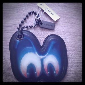 NWT Coach Disney Snow White Spooky Eyes Keychain